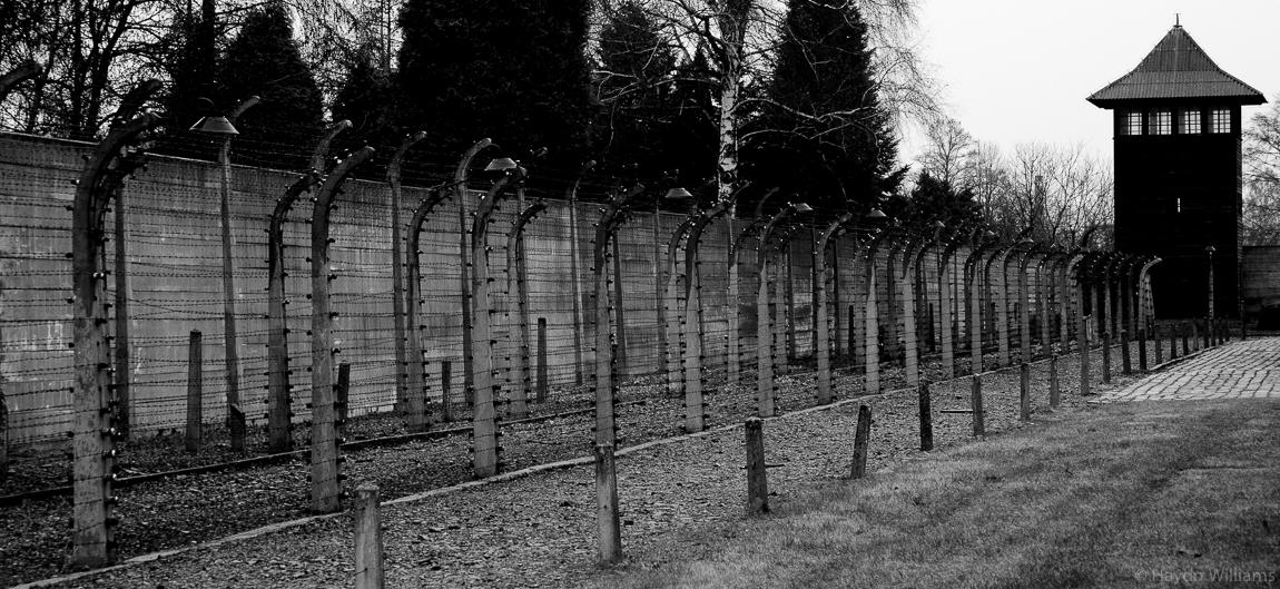 Auschwitz concentration camp, Poland. © Haydn Williams 2011