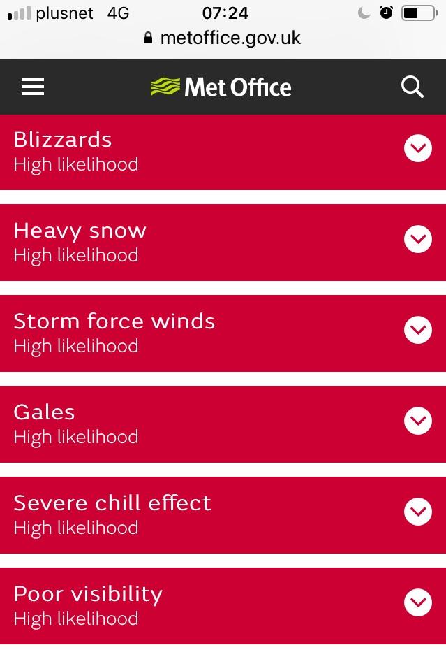 Weather bingo - house!