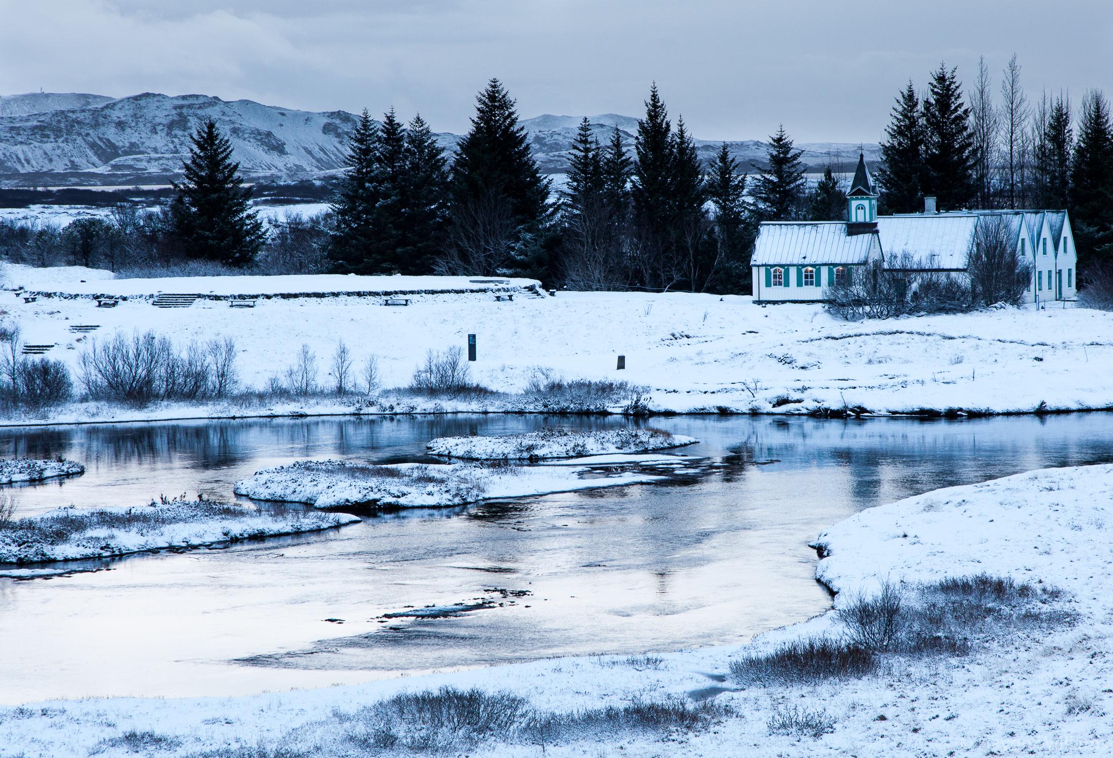 Þingvallakirkja, the church at Þingvellir National Park. © Haydn Williams 2019