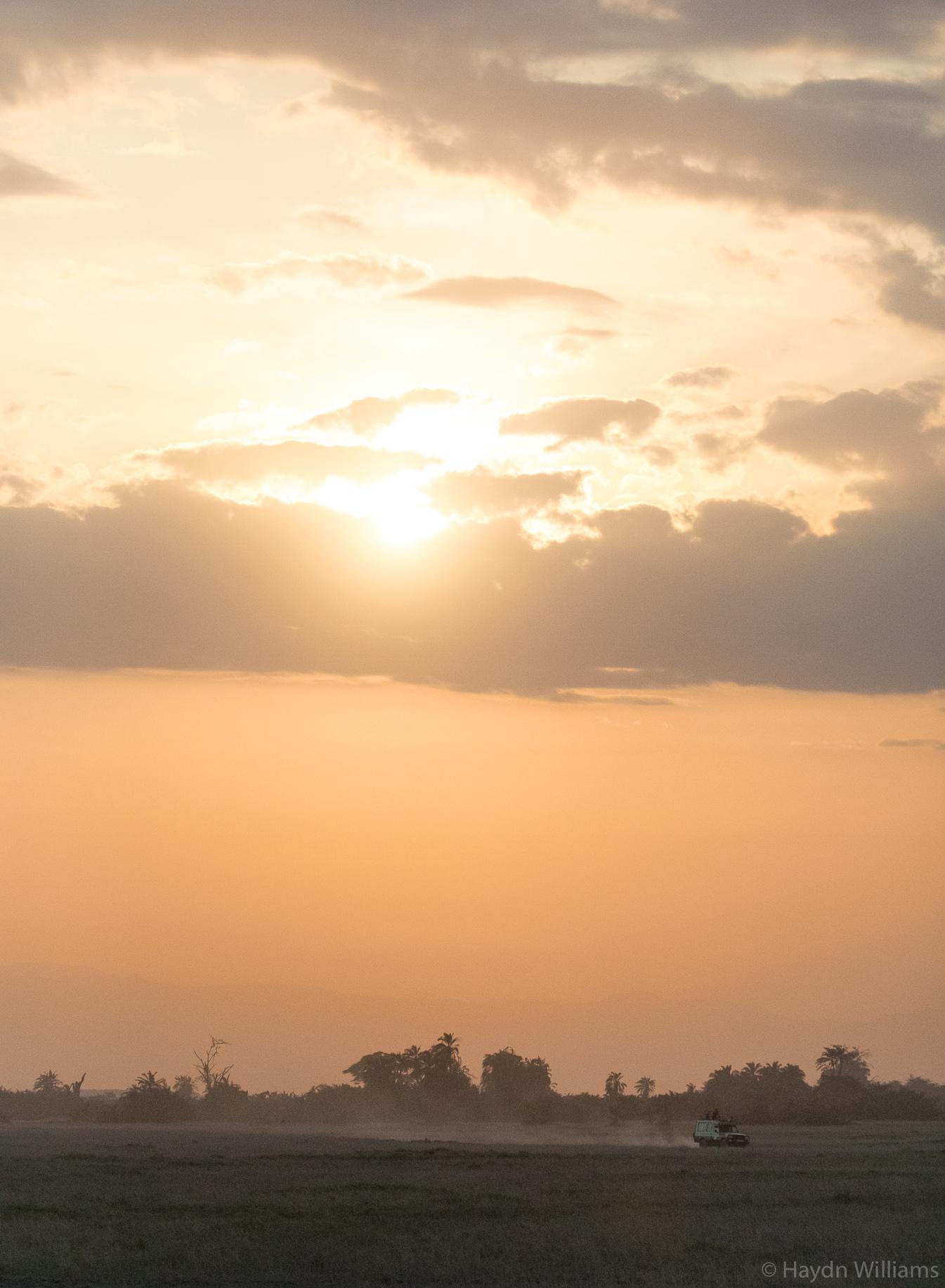 Safari sunset. © Haydn Williams 2019