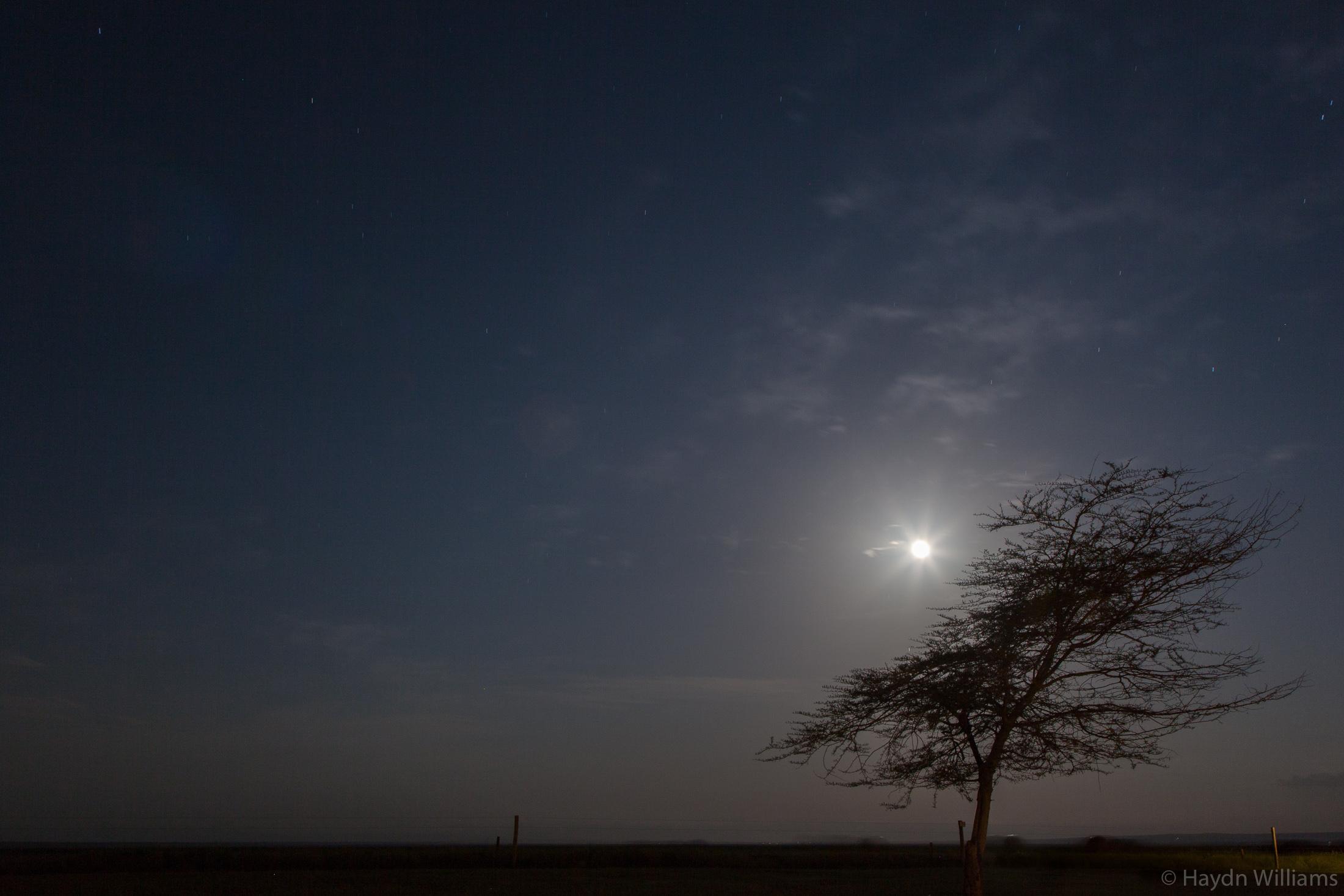 Moonrise from Ol Tukai. © Haydn Williams 2019